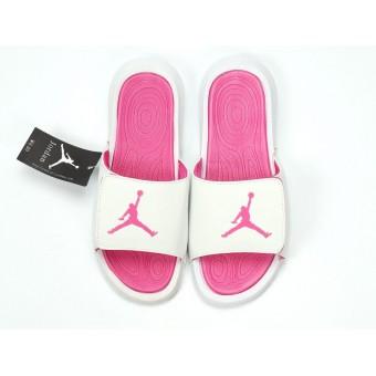 Air Jordan Hydro IV - Nike Jordan Claquette/Sandals Pink Blance Pour Femme