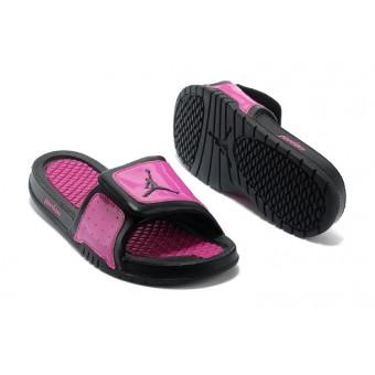 Jordan Hydro V Retro - Nike Jordan Claquette/Sandals Pas Cher Pour Femme Pourpre