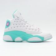 Air Jordan 13 Retro 439358-100 Aurora Green Chaussures Jordan Basket Pas Cher Pour Femme