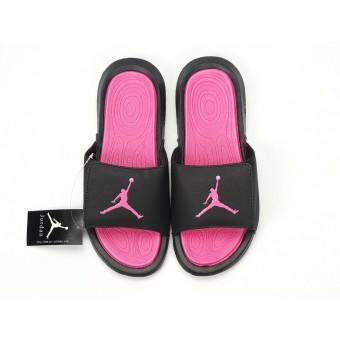2021 Air Jordan Hydro IV - Nike Jordan Claquette/Sandals Noire Pink Pour Femme