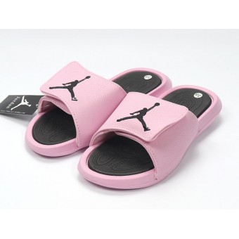 Air Jordan Hydro IV - Nike Jordan Claquette/Sandals Pink noire Pour Femme