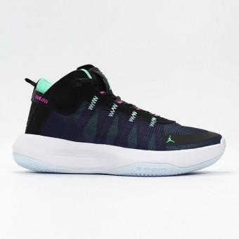 Nike Air Jordan 34 Jumpman 2020 PF NOIR/VERT GLOW BQ3448-005 Pas Cher Pour Homme