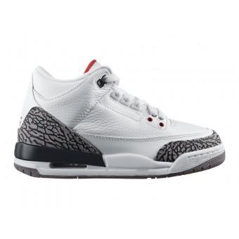 Air Jordan 3 Retro - Basket Jordan Pas Cher Chaussure Pour Petit Enfant