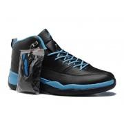 Air Jordan 12 Retro Chaussures Jordan Basket Pour Homme Noir/Bleu