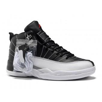 Air Jordan 12 Retro Chaussures Jordan Basket Pour Homme Noir/Gris