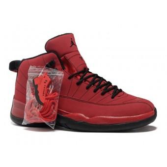 Air Jordan 12 Retro Chaussures Jordan Basket Pour Homme Rouge/Noir