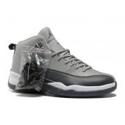 Air Jordan 12 Retro Chaussures Jordan Basket Pour Homme Gris/Argent