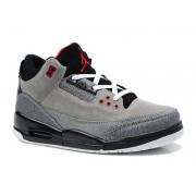 Air Jordan 3 Retro - Basket Jordan Anti-Fourrure Chaussures Pas Cher Pour Homme Girs