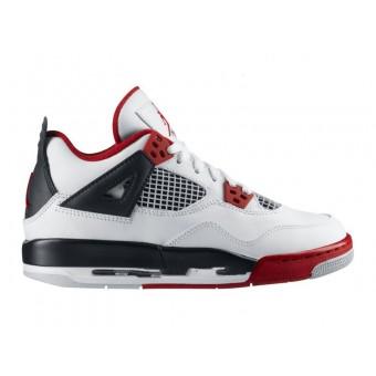 Air Jordan 4 Retro - Basket Jordan Pas Cher Chaussures Pour Femme/Enfant