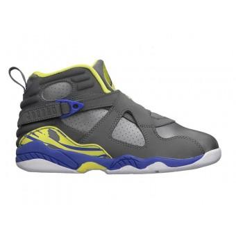 Air Jordan Retro 8 - Chaussure Nike Jordan Basket-ball Pas Cher Pour Petit Fille/Enfant