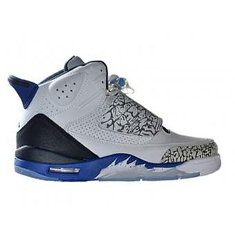 Jordan Son Of Mars Chaussure Jordan Pas Cher Pour Homme Blanc/Bleu/Gris