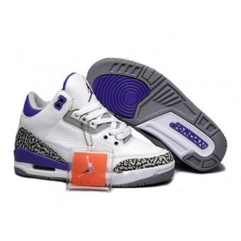 Air Jordan 3 Retro - Chaussure Nike Jordan Basket Pas Cher Pour Femme/Fille