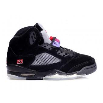 Air Jordan 5 Retro (Anti-fourrure) Chaussure Jordan Baskets Pas Cher Pour Femme/Enfant