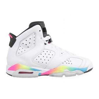 Air Jordan 6/VI Retro GS - Baskets Jordan Pas Cher Chaussure Pour Femme/Fille