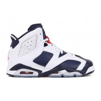 Air Jordan 6/VI Retro GS 2012 - Baskets Jordan Pas Cher Chaussure Pour Femme/Garcon