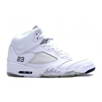 Air Jordan 5/V Retro + 3/4 High Men - Chaussures Baskets Jordan Pas Cher Pour Homme