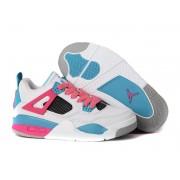 Air Jordan 4/IV Retro PS 2013 - Chaussures Nike Jordan Baskets Pas Cher Pour Petit Fille