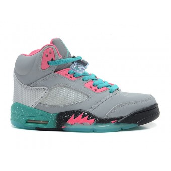 Air Jordan V(5) Retro GS Custom - Chaussure Nike Jordan Pas Cher Pour Femme/Fille