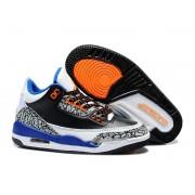 Air Jordan 3 (III) Retro (ID Style) PS - Jordan Baskets Pas Cher Chaussure Pour Petit Enfant