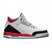 Air Jordan Retro 3/III GS 2013 - Chaussure Nike Jordan Baskets Pas Cher Pour Femme/Garcon