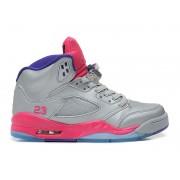 Air Jordan Retro 5/V GS 2013 - Baskets Nike Jordan Pas Cher Pour Femme/Fille