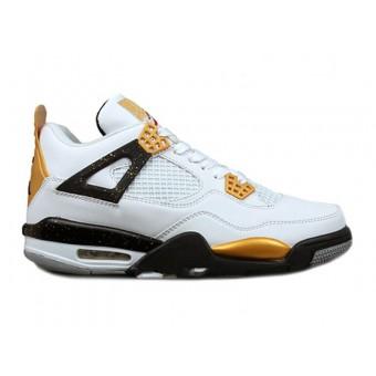 Air Jordan IV Gold Digger DMC Kicks Customs - Chaussure Jordan 2013 Pour Homme