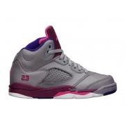 Air Jordan V(5) Retro 2013 PS - Chaussure Baskets Jordan Pas Cher Pour Petit Fille