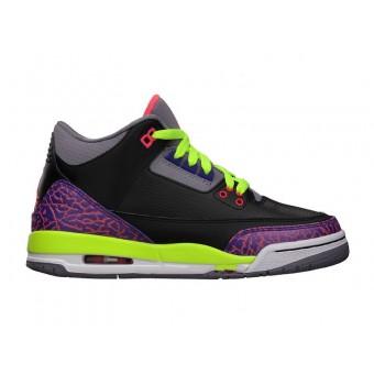 Air Jordan Retro 3/III GS 2013 - Chaussure Nike Jordan Baskets Pas Cher Pour Femme/Fille