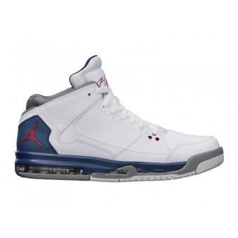 Nike Air Jordan Flight Origine Blanc True Blue Fire Red599593-104