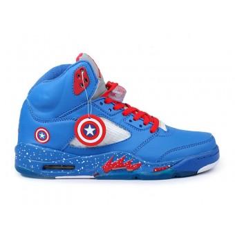 Air Jordan 5(V) Retro Custom 2013 - Nike Jordan Sneakers Pas Cher Pour Homme