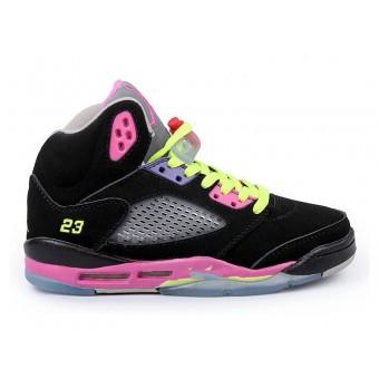 Air Jordan 5/V Retro GS - Baskets Nike Jordan Pas Cher Chaussure Pour Femme/Fille