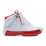 Air Jordan 18 OG (Blanc / Rouge) Cheap Sale 305869-161