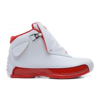 Air Jordan 18 OG (Blanc / Rouge) Cheap Sale 305869-161