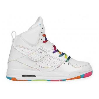 Jordan Flight 45 High GS - Chaussures Air Jordan Baskets Pas Cher Pour Femme/Fille