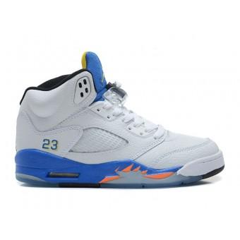 Air Jordan Retro 5/V 2013 GS - Baskets Nike Air Jordan Pas Cher Pour Femme/Enfant