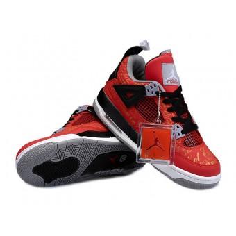 Air Jordan 4/IV Retro GS Custom - Nike Air Jordan Sneakers Pas Cher Pour Femme/Fille