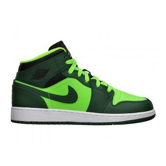 Air Jordan 1/I Mid GS - Chaussure de Nike Air Jordan Pour Basket-ball Pour Femme/Garcon