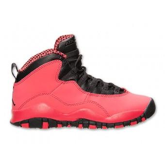 Air Jordan 10/X Retro Text GS 2014 - Chaussure de Basket-ball Pour Femme/Fille