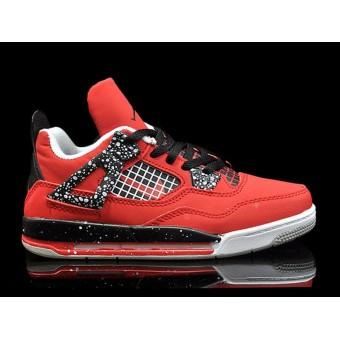 Air Jordan 4/IV Retro 2013 PS - Chaussure Baskets Jordan Pas Cher Pour Petit Fille