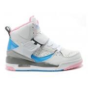Jordan Flight 45 High GS - Chaussure Nike Air Jordan Baskets Pas Cher Pour Femme/Fille