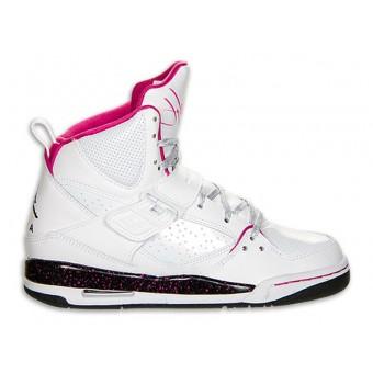 Jordan Flight 45 High GS - Chaussure Baskets Nike Jordan Pas Cher Pour Femme/Fille