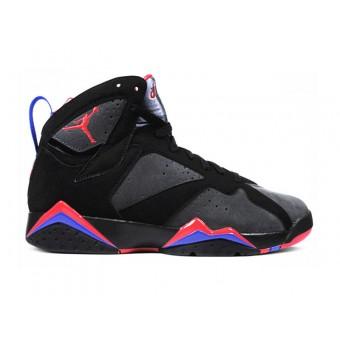 Air Jordan 7 Retro Chaussures Pour Femme Noir Gris Rouge Boutique Jordan Femme