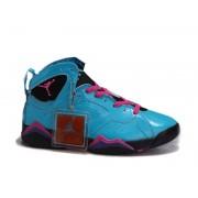 Air Jordan 7 Retro Chaussures Pour Femme Bleu/Noir/Rose air jordan 7 raptor
